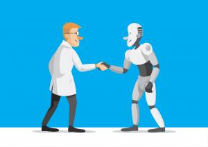 human and robot moderation