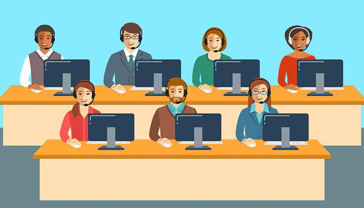Call Center Help Desk Support