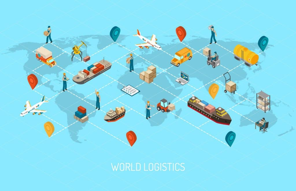 Data Entry improves the communicatin of the World Logistics