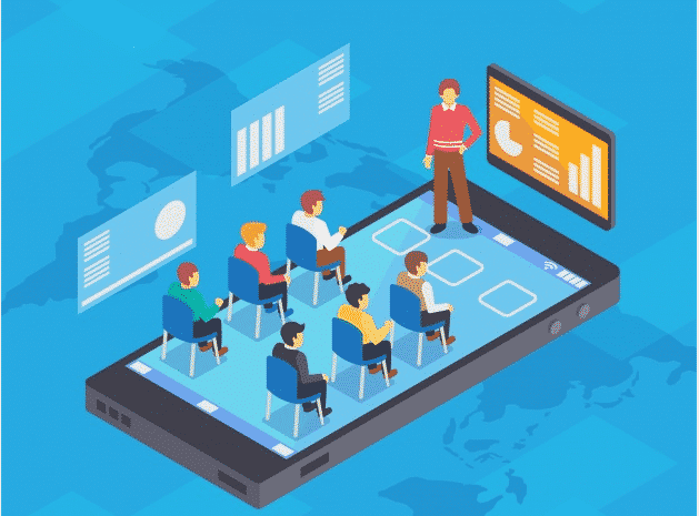 E-learning is growing fast
