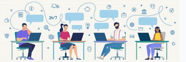 Live chat support outsourcing Pure Moderation