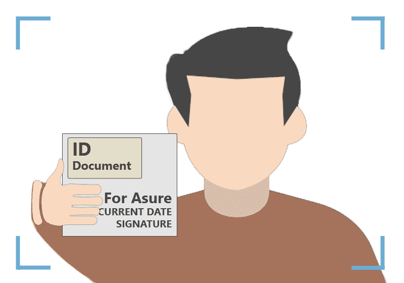 Agents gather information from the customer ID