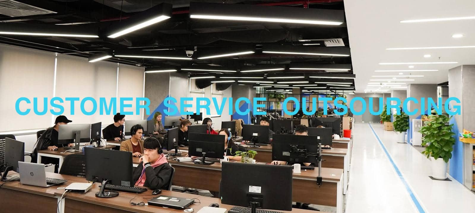 One of the top Customer service outsourcing companies Pure Moderation office