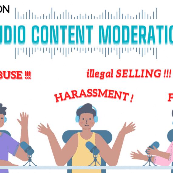 Podcast Audio Content Moderation